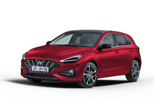 new Hyundai i30_Fiery Red
