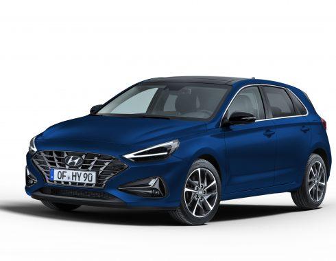 new Hyundai i30_Stellar Blue